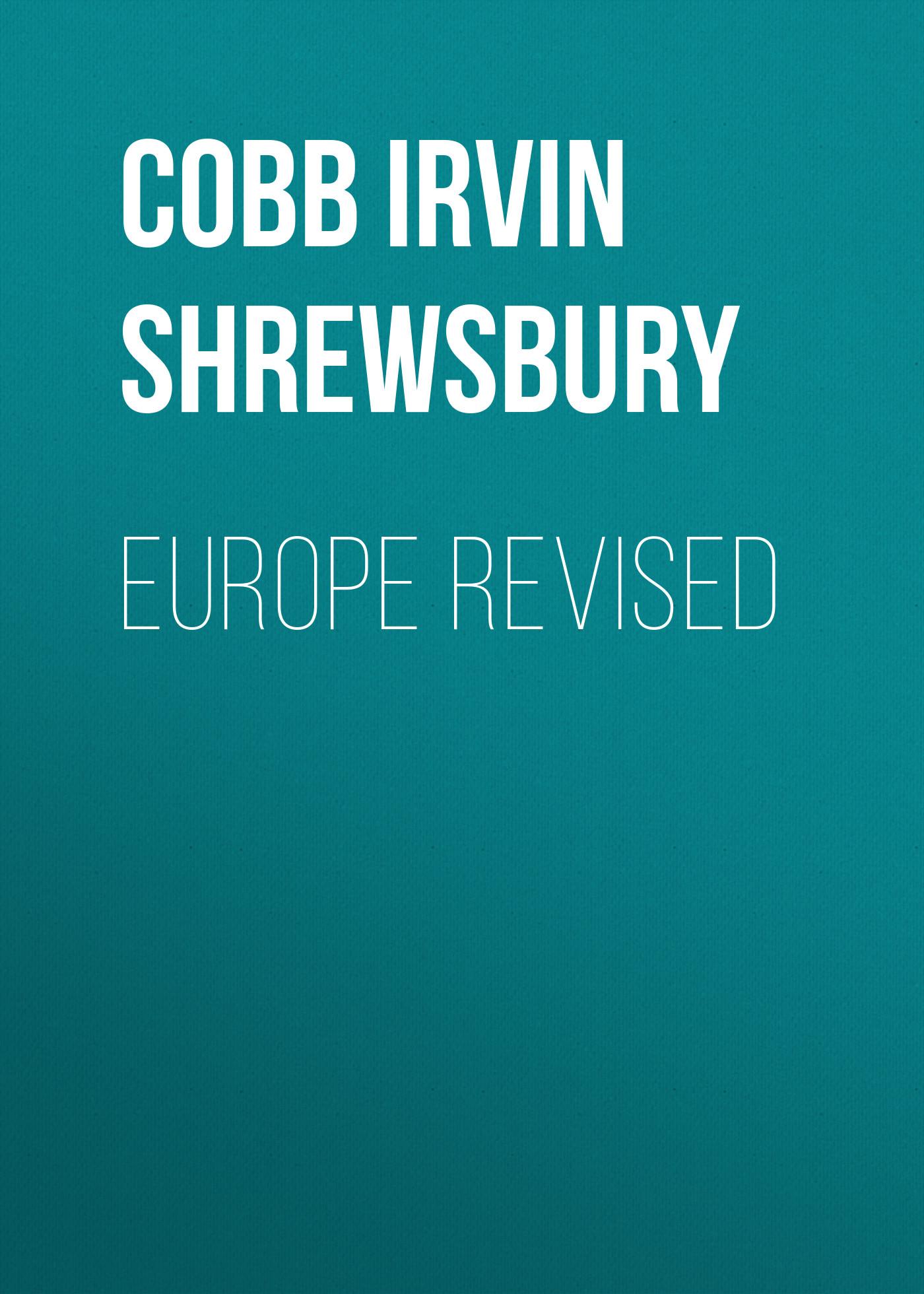 Cobb Irvin Shrewsbury Europe Revised цена в Москве и Питере