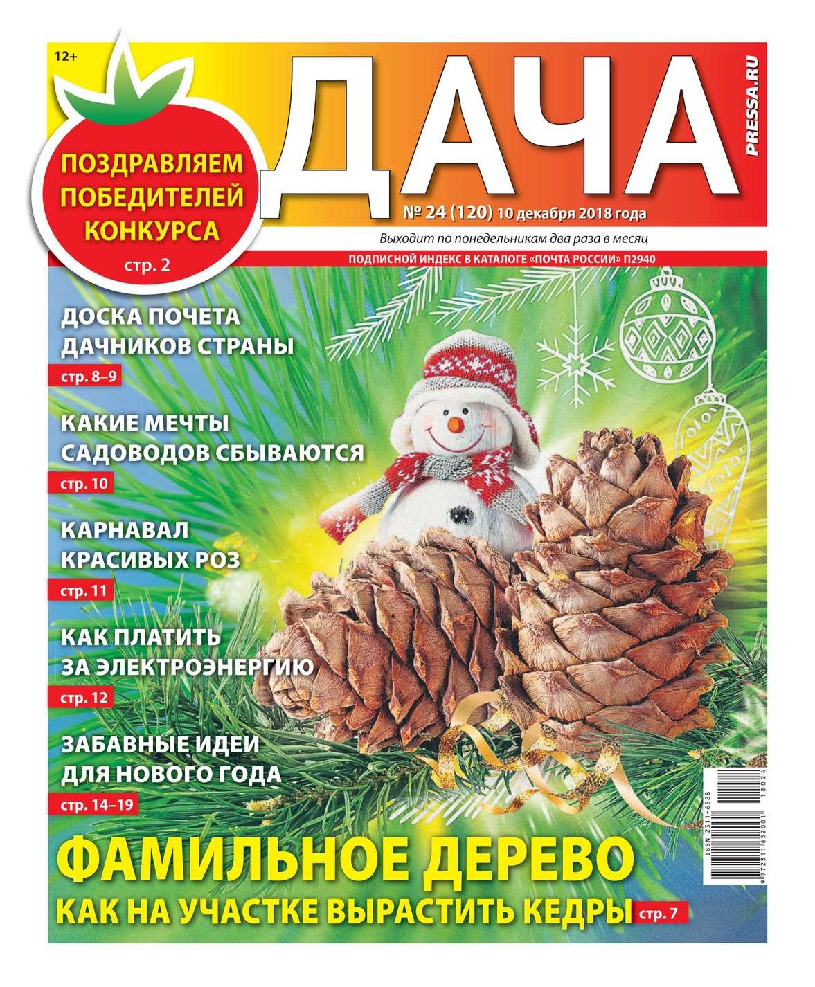 Дача Pressa.ru 24-2018