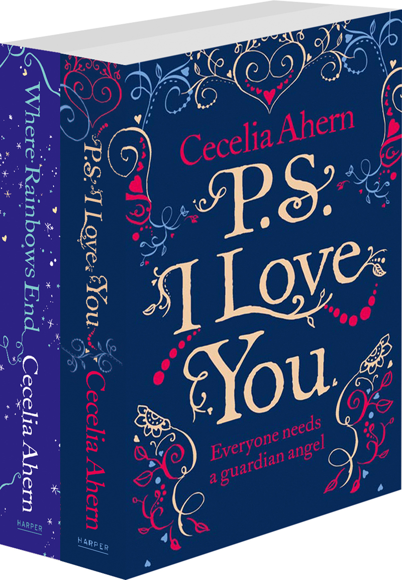 Cecelia Ahern Cecelia Ahern 2-Book Valentine Collection: PS I Love You, Where Rainbows End yeduo romantic small white love marquee sign night lights for home wedding decoration valentine gift