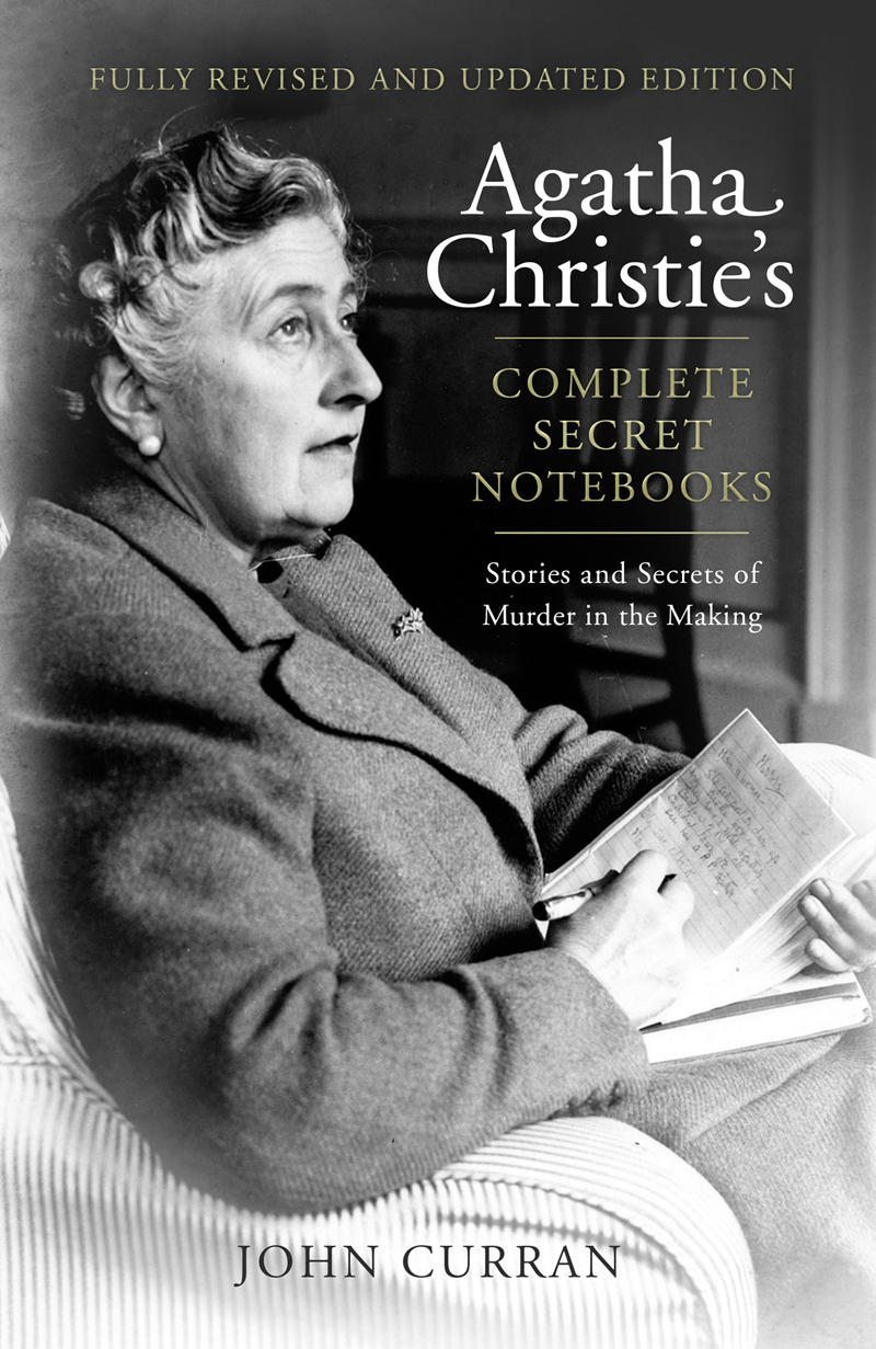 agatha christies complete secret notebooks