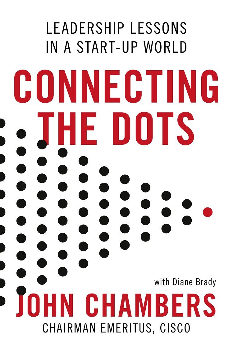 Обложка книги Connecting the Dots: Leadership Lessons in a Start-up World