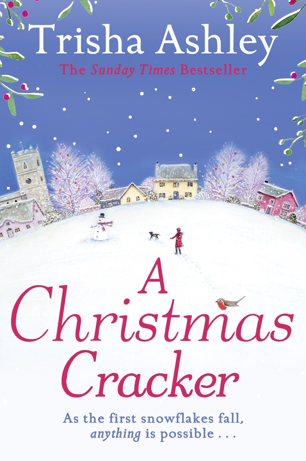Trisha Ashley A Christmas Cracker: The only festive romance to curl up with this Christmas!