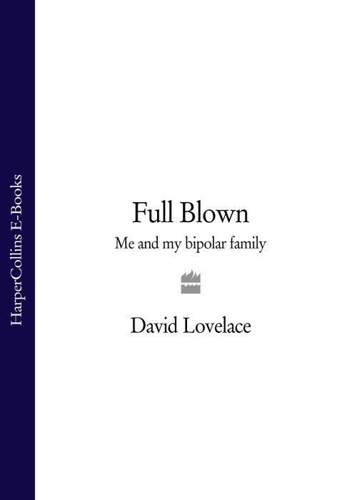 David Lovelace Full Blown: Me and My Bipolar Family muse manic depression