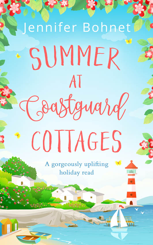 Jennifer Bohnet Summer at Coastguard Cottages: a feel-good holiday read ellen berry the bookshop on rosemary lane the feel good read perfect for those long winter nights