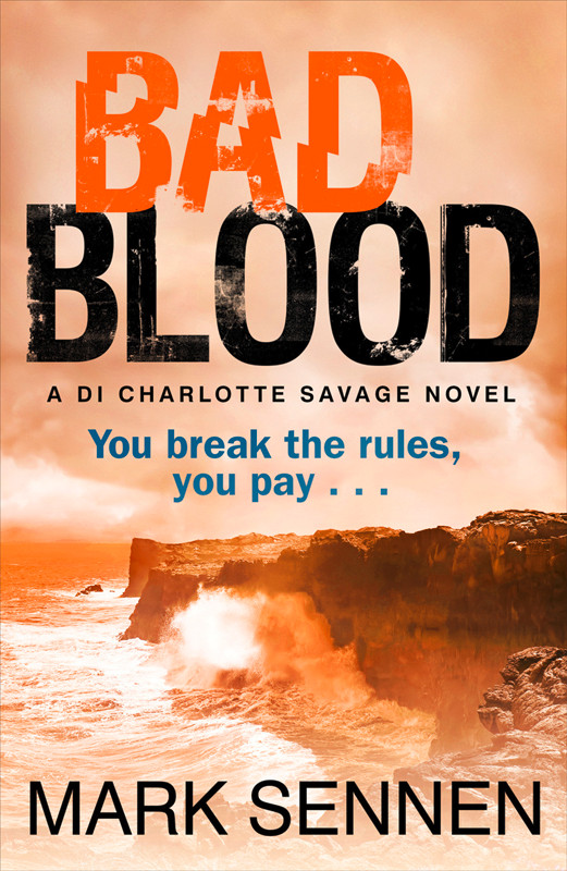 Mark Sennen BAD BLOOD: A DI Charlotte Savage Novel mark sennen two evils a di charlotte savage novel