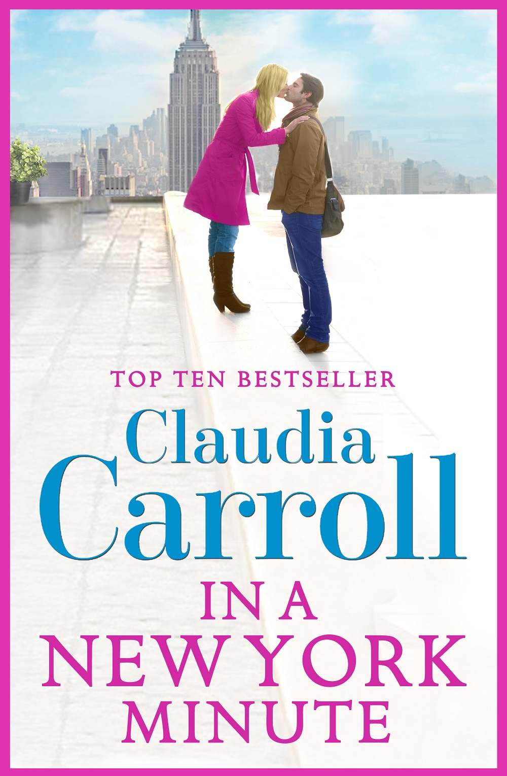 Claudia Carroll In A New York Minute new in stock dt93n14lof