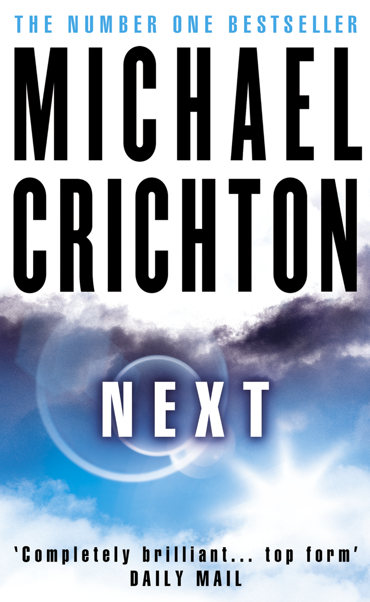 Michael Crichton Next crichton m airframe isbn 9780345402875