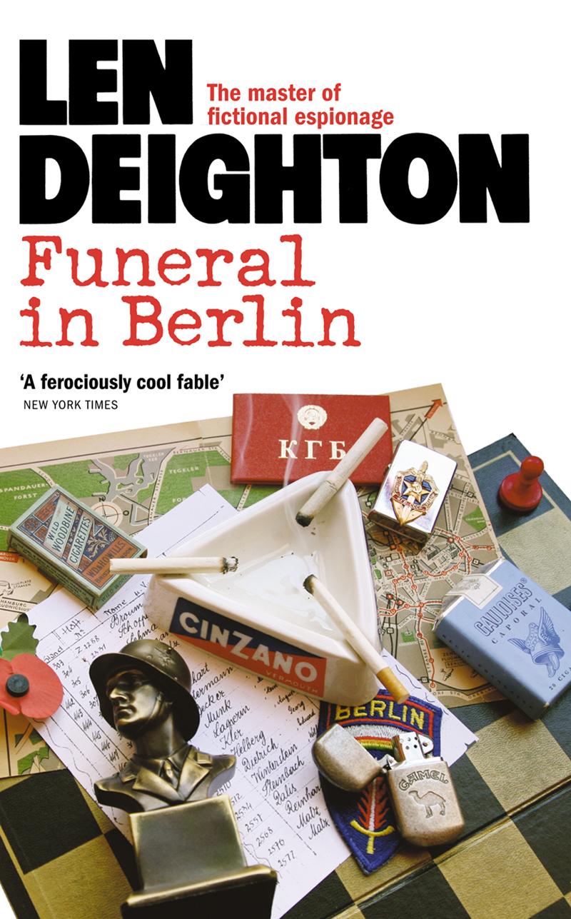 Len Deighton Funeral in Berlin len deighton ss gb