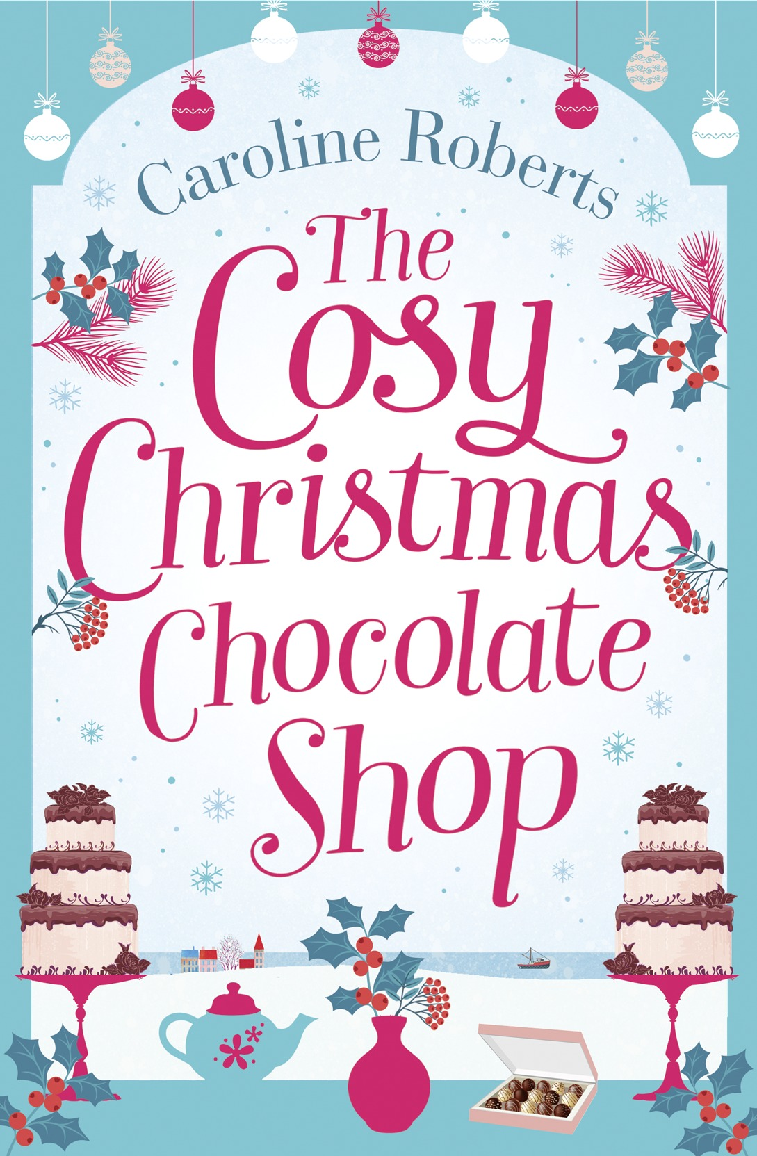 Caroline Roberts The Cosy Christmas Chocolate Shop: The perfect, feel good romantic comedy to curl up with this Christmas! adiors short wild curl up shaggy curly party synthetic wig
