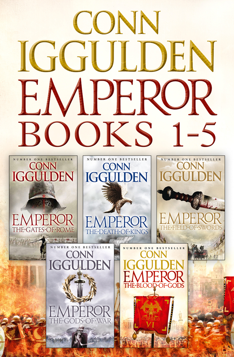 Conn Iggulden The Emperor Series Books 1-5 the emperor and the kite