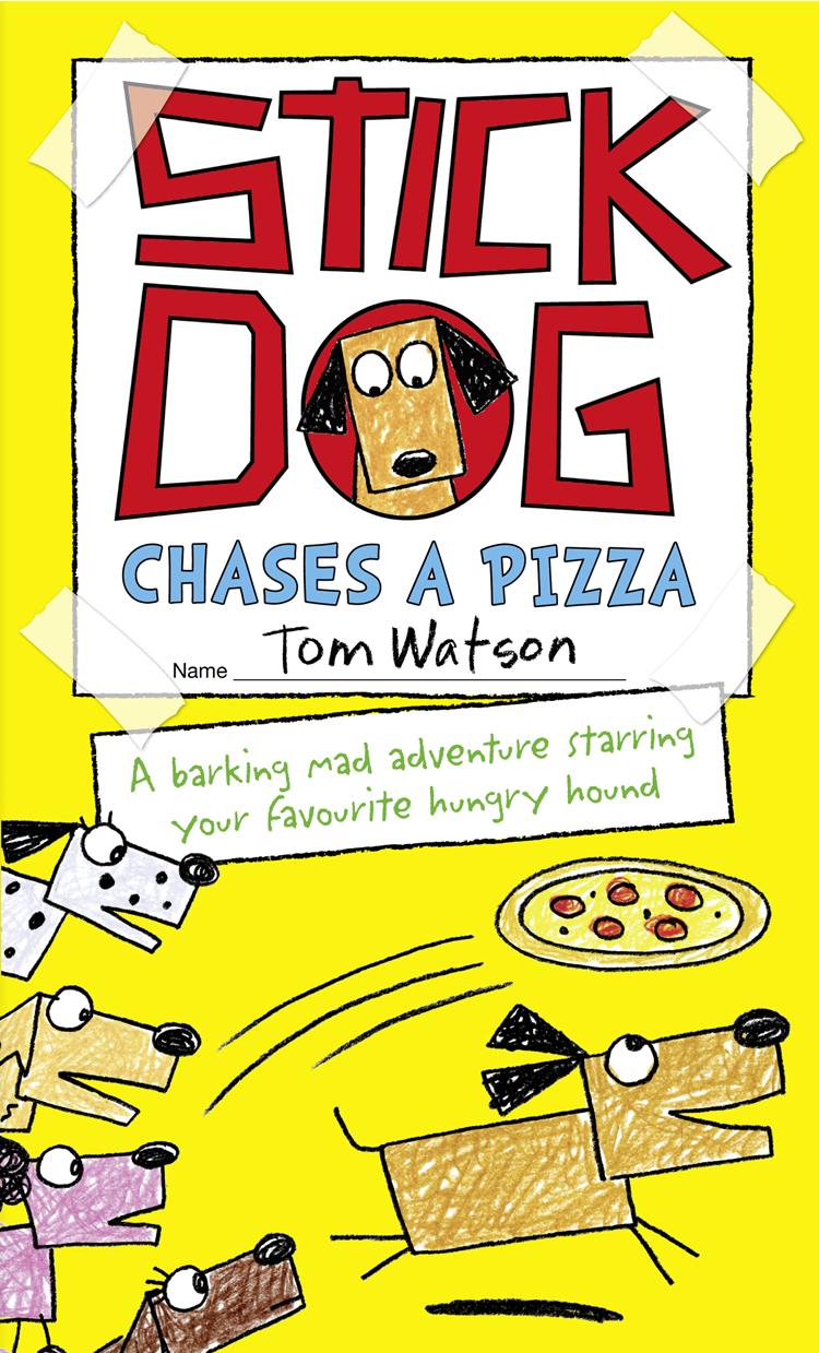 цена Tom Watson Stick Dog Chases a Pizza