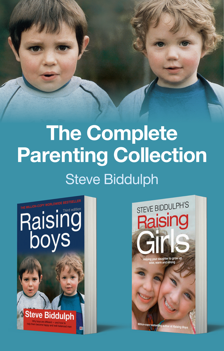 Steve Biddulph The Complete Parenting Collection the brambly hedge complete collection