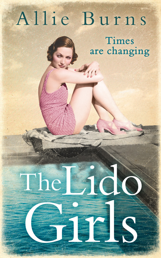 Allie Burns The Lido Girls libby page the lido