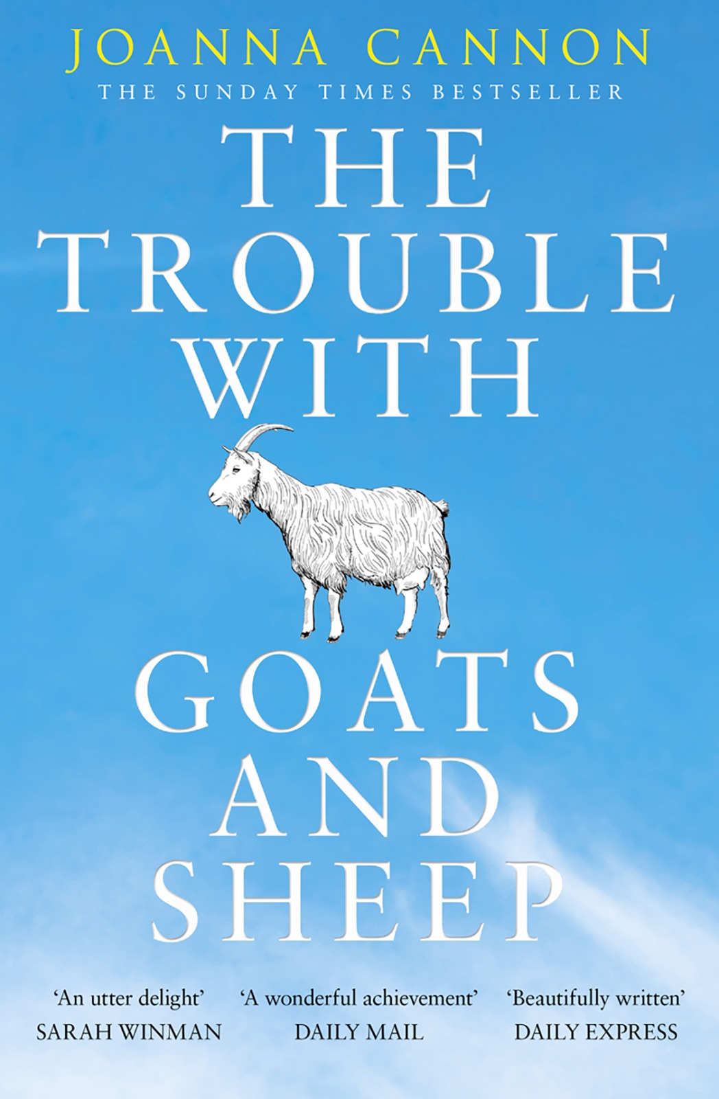 Joanna Cannon The Trouble with Goats and Sheep подушка для сидений beating the sheep