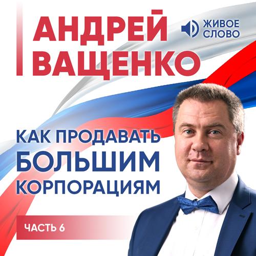 Андрей Ващенко Как продавать большим корпорациям. Часть 6