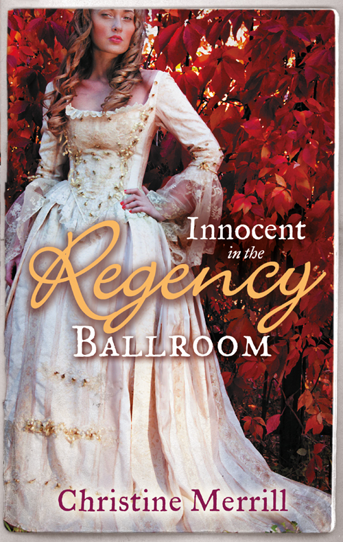 Christine Merrill Innocent in the Regency Ballroom: Miss Winthorpe's Elopement / Dangerous Lord, Innocent Governess
