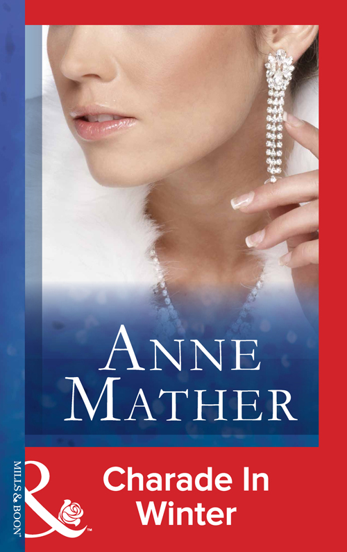 Anne Mather Charade In Winter anne mather white rose of winter