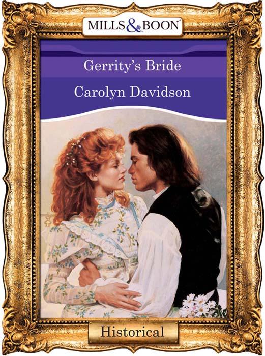 Carolyn Davidson Gerrity's Bride carolyn davidson tempting a texan