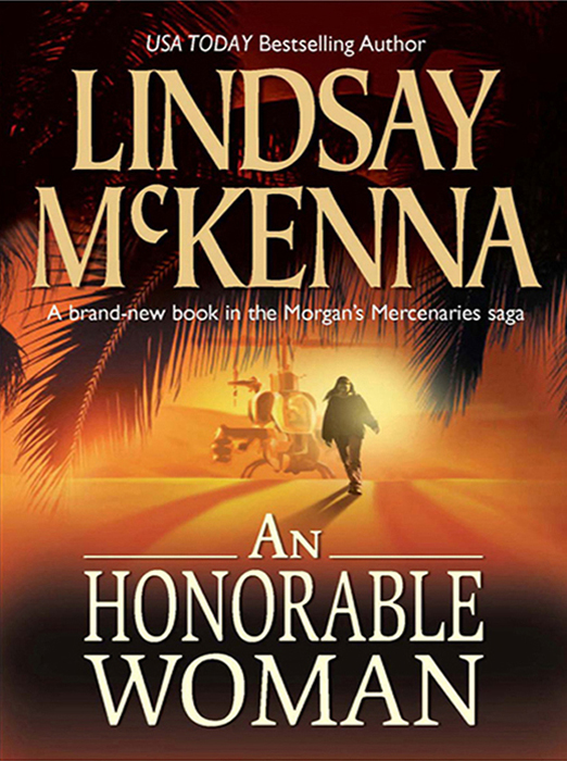 Lindsay McKenna An Honorable Woman 1pc used ad6 opto22