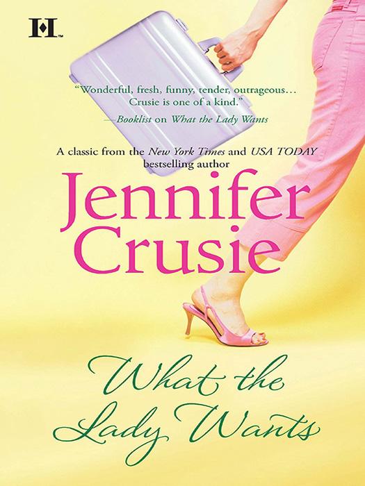 Jennifer Crusie What the Lady Wants peabody