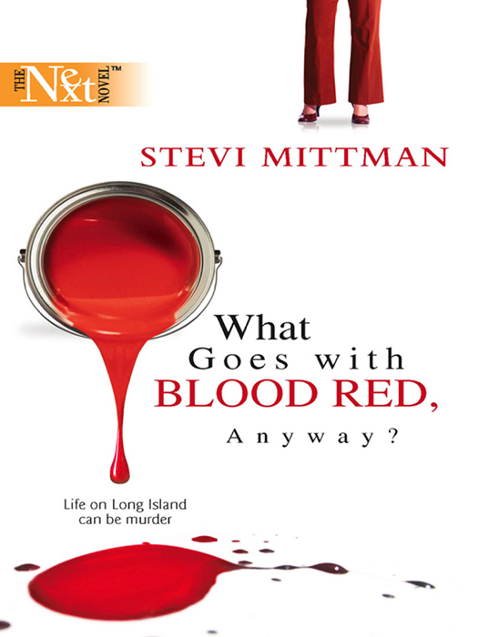 Stevi Mittman What Goes With Blood Red, Anyway? накладной светильник favourite funken 1694 2c