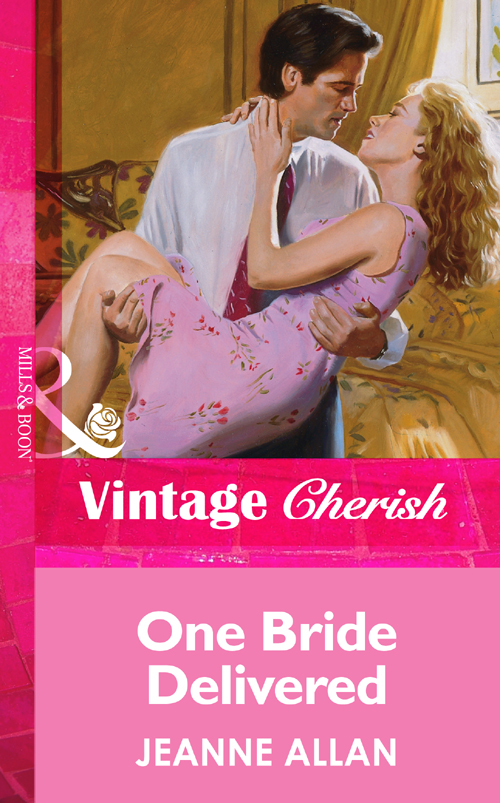 Jeanne Allan One Bride Delivered брюки cheyenne