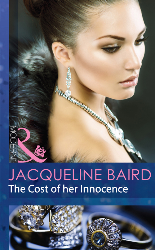 JACQUELINE BAIRD The Cost of her Innocence beth ann ziarnik her deadly inheritance