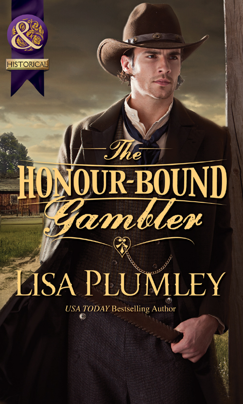 Lisa Plumley The Honour-Bound Gambler the confidence–man