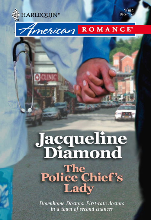 Jacqueline Diamond The Police Chief's Lady town in a wild moose chase