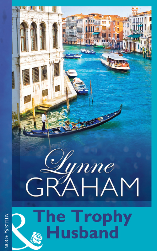 LYNNE GRAHAM The Trophy Husband sara wood the vengeful groom
