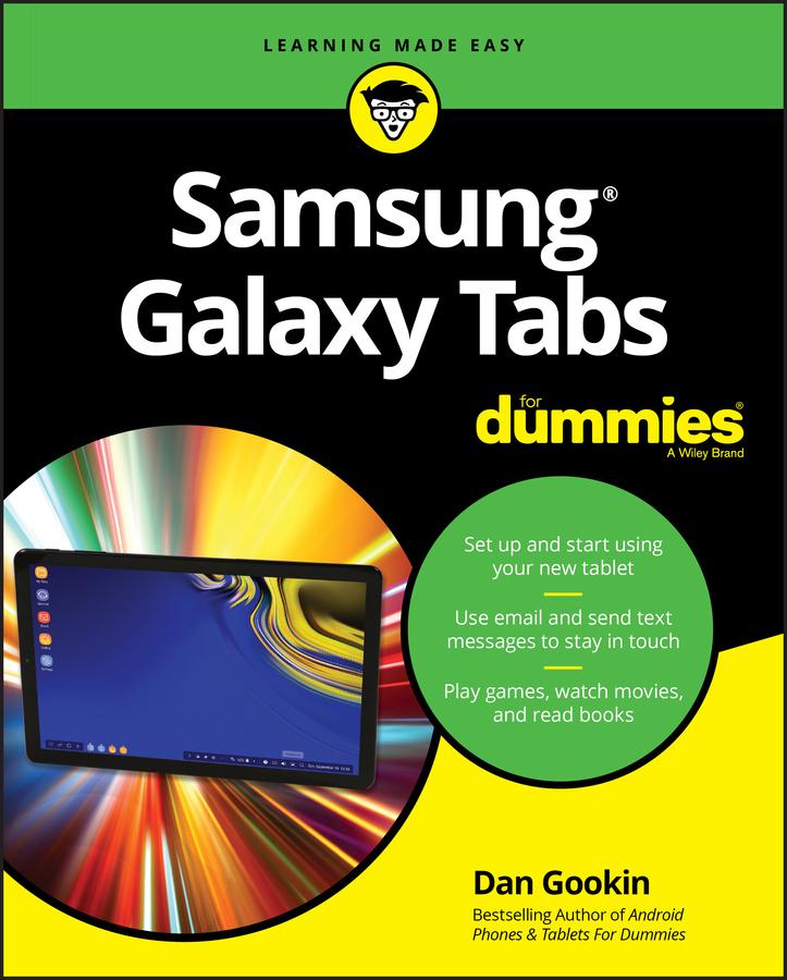 Dan Gookin Samsung Galaxy Tabs For Dummies dan gookin android tablets for dummies