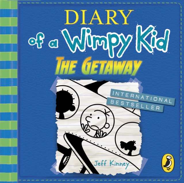 Jeff Kinney Diary of a Wimpy Kid: The Getaway (Book 12) kinney j the wimpy kid do it yourself book