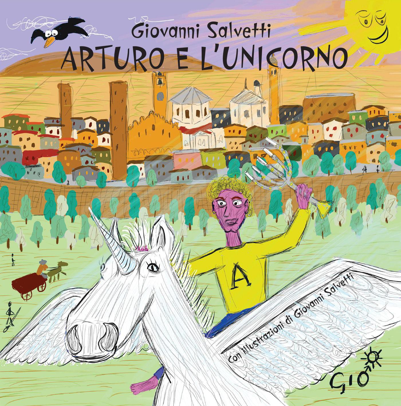 Джованни Сальветти Arturo e l'unicorno джованни сгамбати quattro melodie per una voce e pianoforte da g sgambati