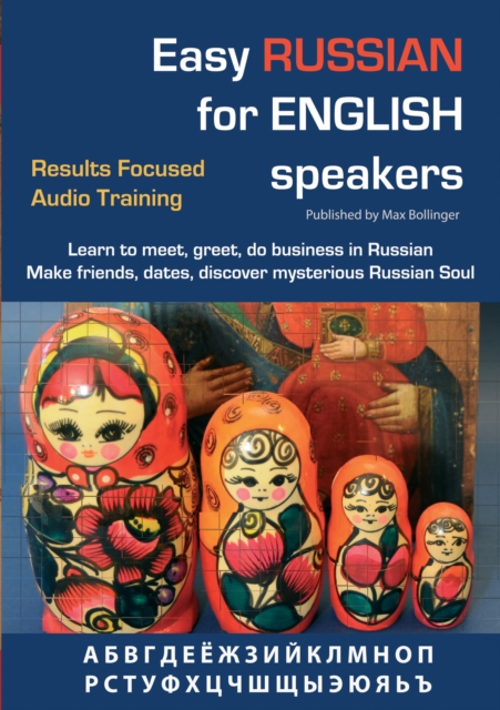 Max Bollinger Easy Russian for English Speakers отсутствует русско американский разговорник russian american english phrasebook