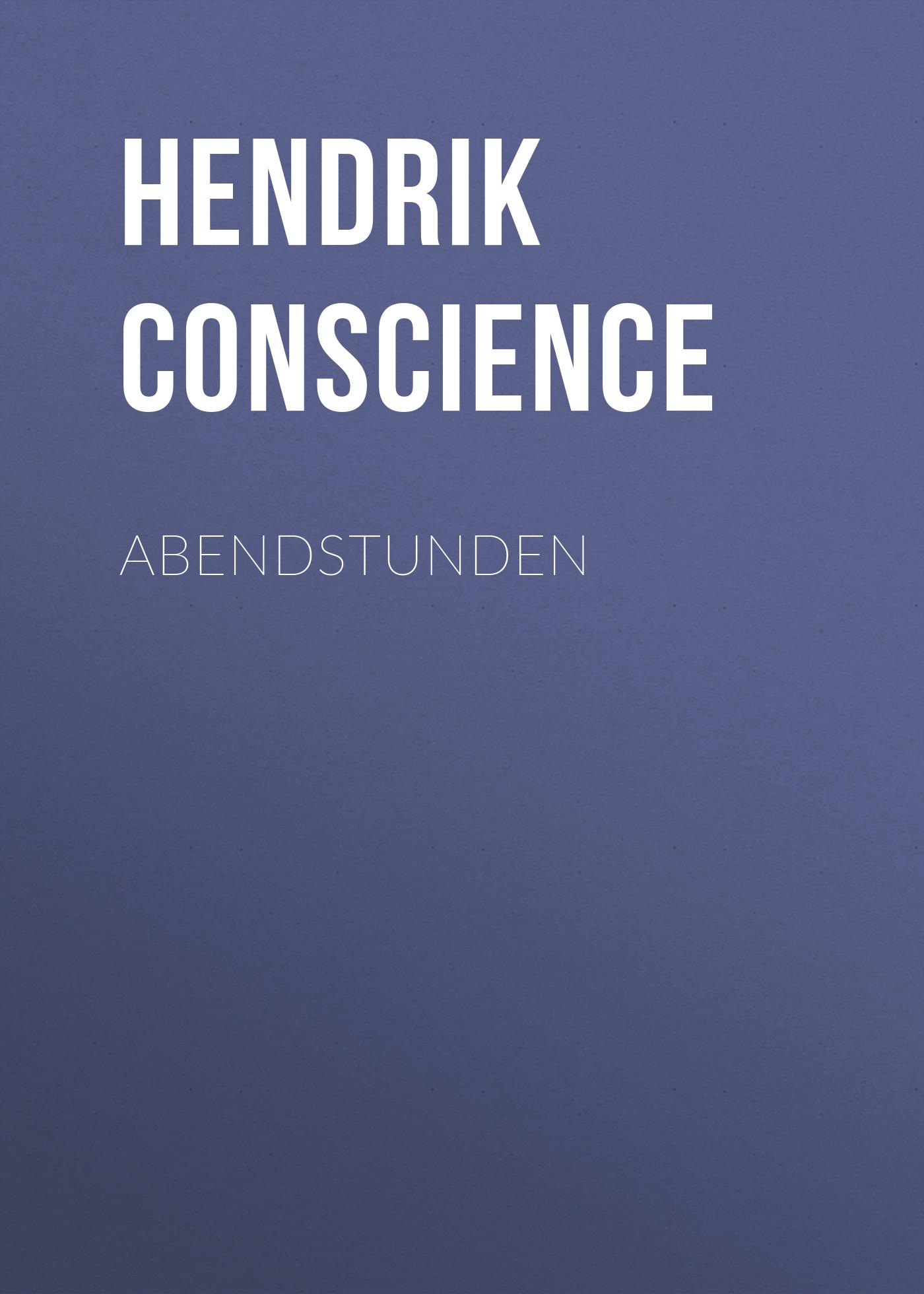 Hendrik Conscience Abendstunden ilves toomas hendrik suurem eesti