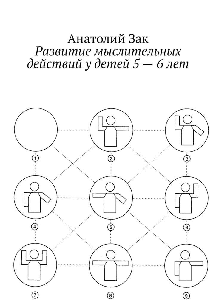 Развитие мыслительных действий у детей 5—6