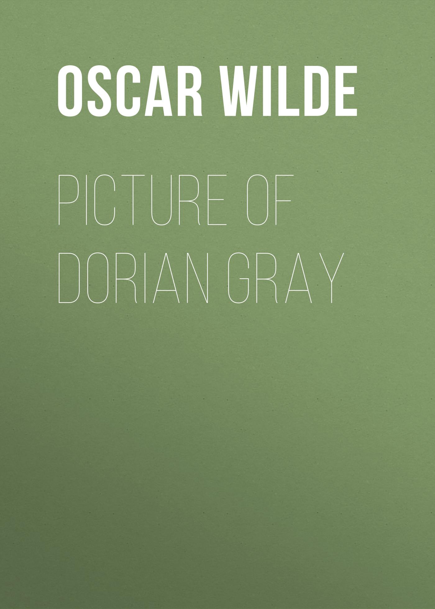 Oscar Wilde Picture of Dorian Gray wilde oscar the picture of dorian gray