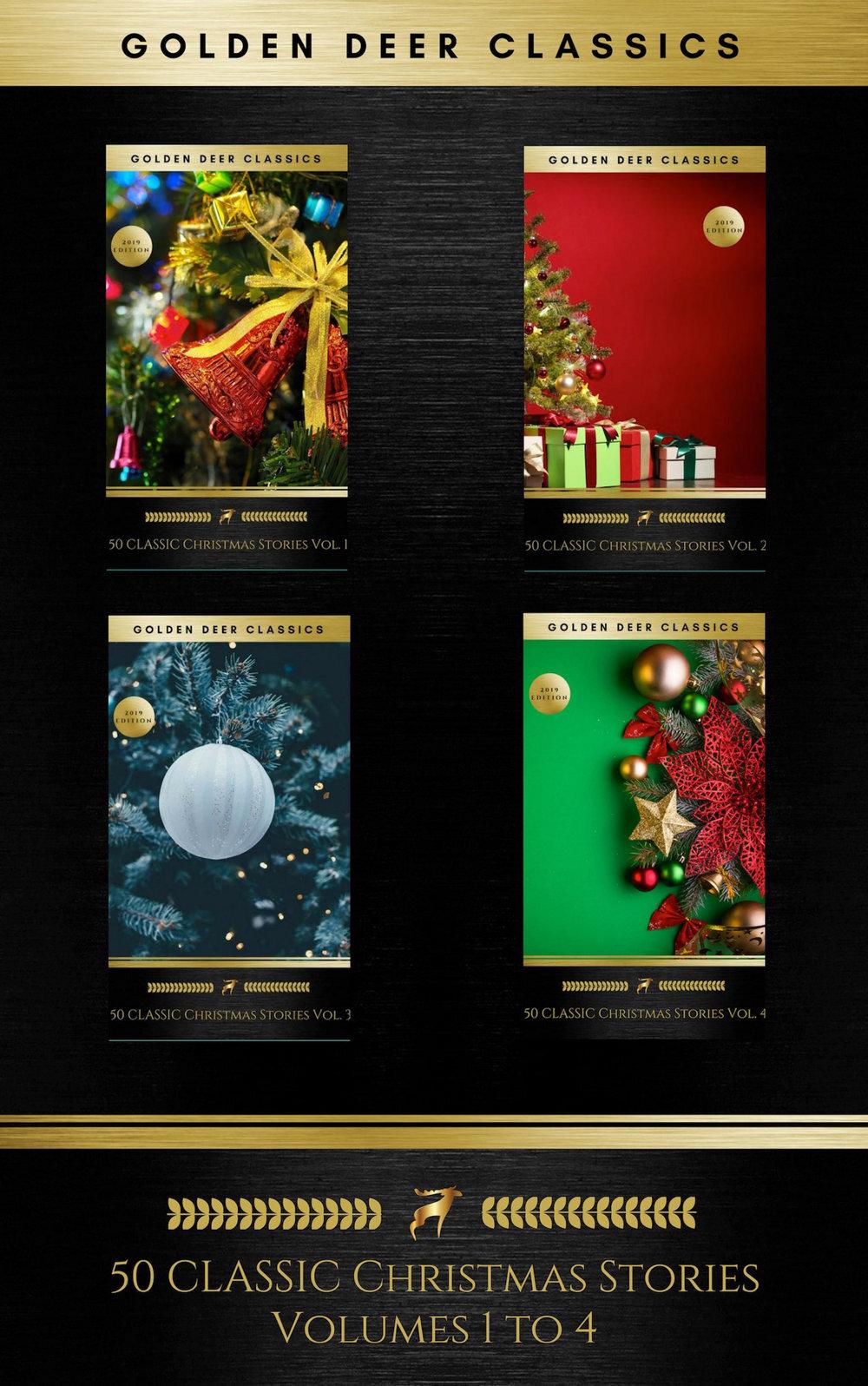 50 classic christmas stories maxipack 100 authors 200 novels novellas stories poems carols golden deer classics