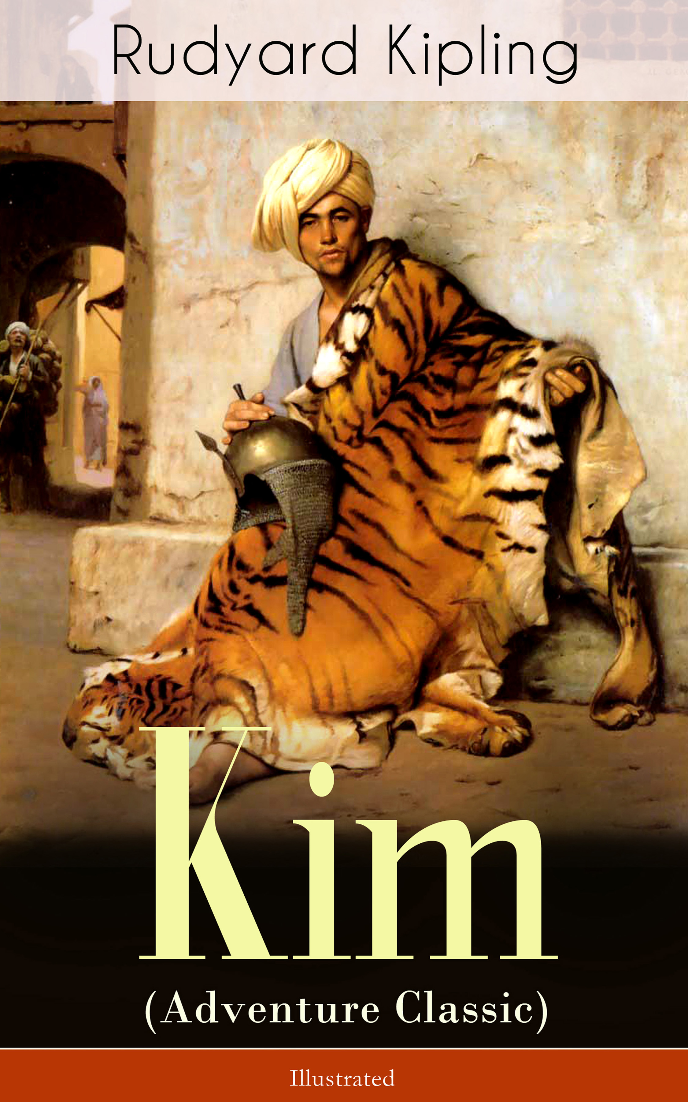 Rudyard 1865-1936 Kipling Kim (Adventure Classic) - Illustrated: A Novel from one of the most popular writers in England, known for The Jungle Book, Just So Stories, Captain Courageous, Stalky & Co, Plain Tales from the Hills, Soldier's Three, The Light That Failed цена 2017