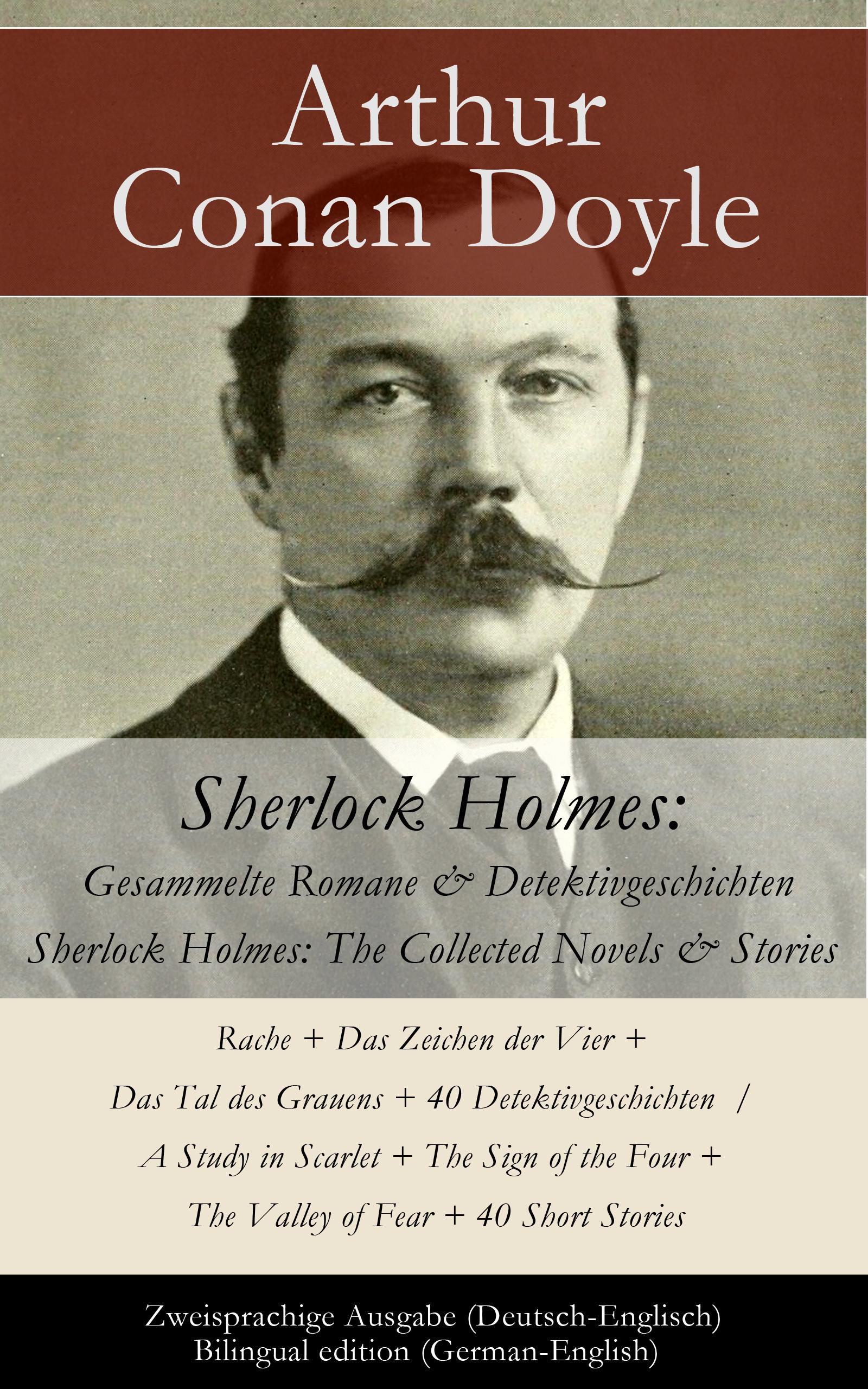 лучшая цена Артур Конан Дойл Sherlock Holmes: Gesammelte Romane & Detektivgeschichten / Sherlock Holmes: The Collected Novels & Stories - Zweisprachige Ausgabe (Deutsch-Englisch) / Bilingual edition (German-English)