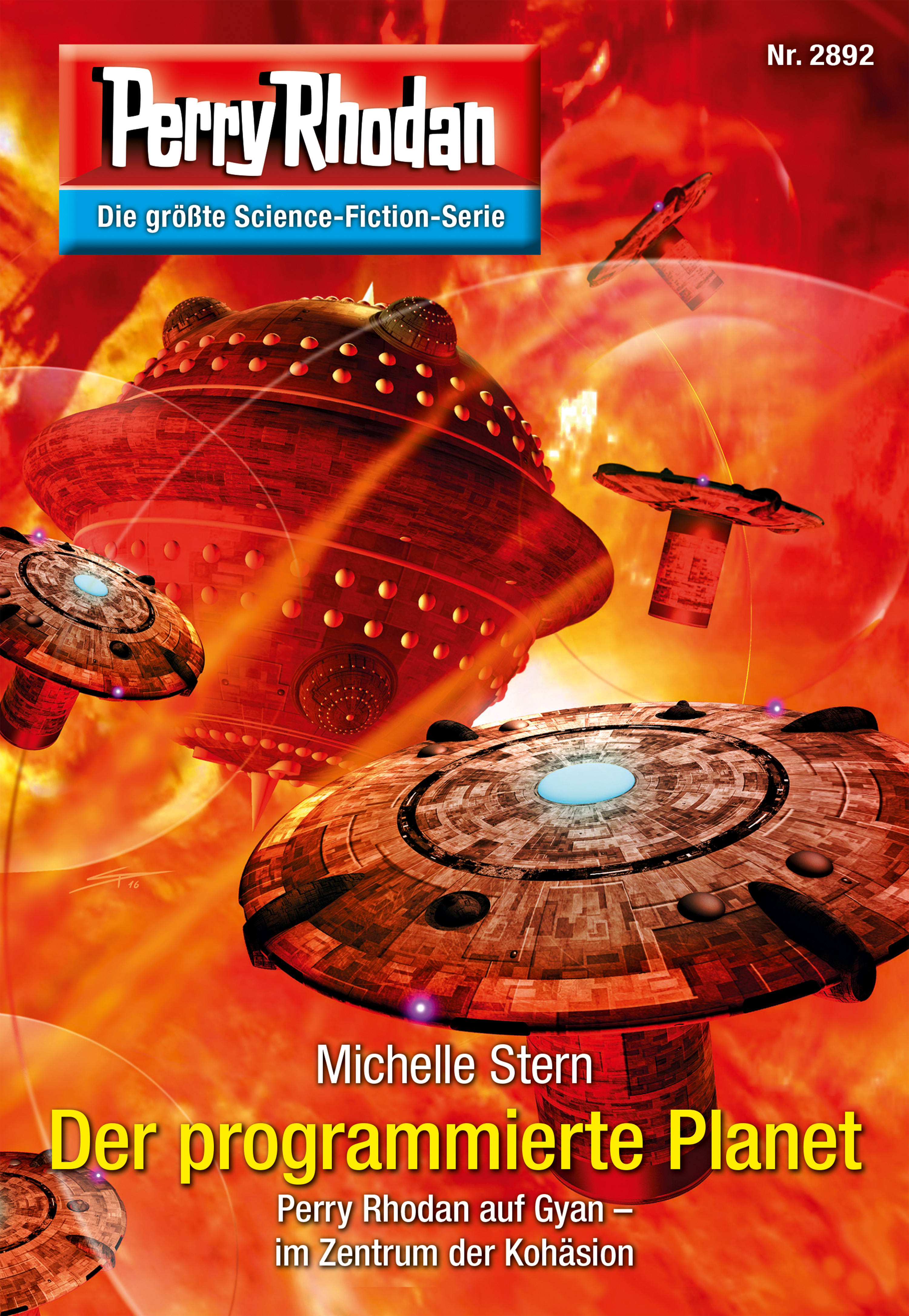 цены Michelle Stern Perry Rhodan 2892: Der programmierte Planet