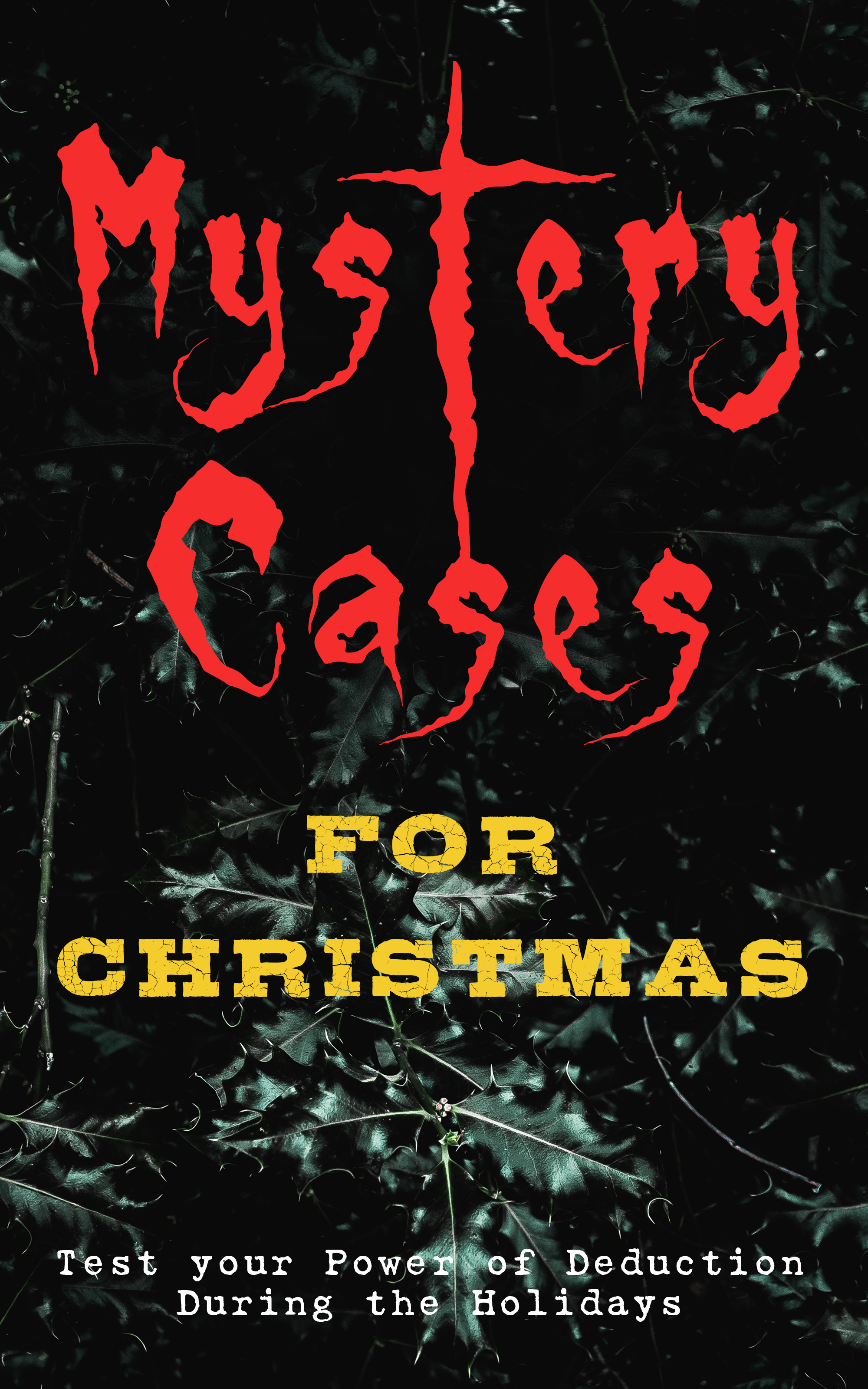 mystery cases for christmas test your power of deduction during the holidays