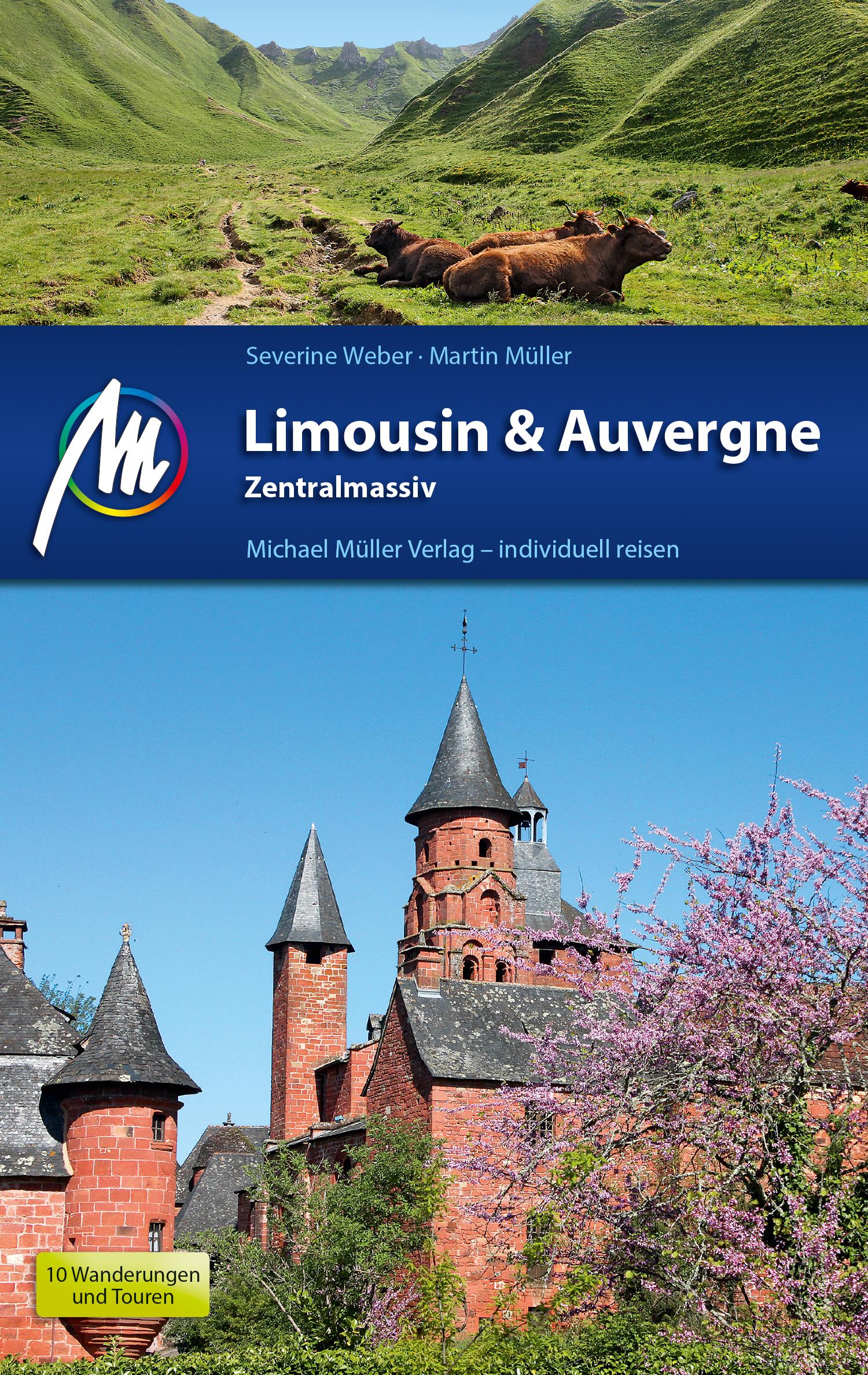 цена Martin Muller Limousin & Auvergne Reiseführer Michael Müller Verlag