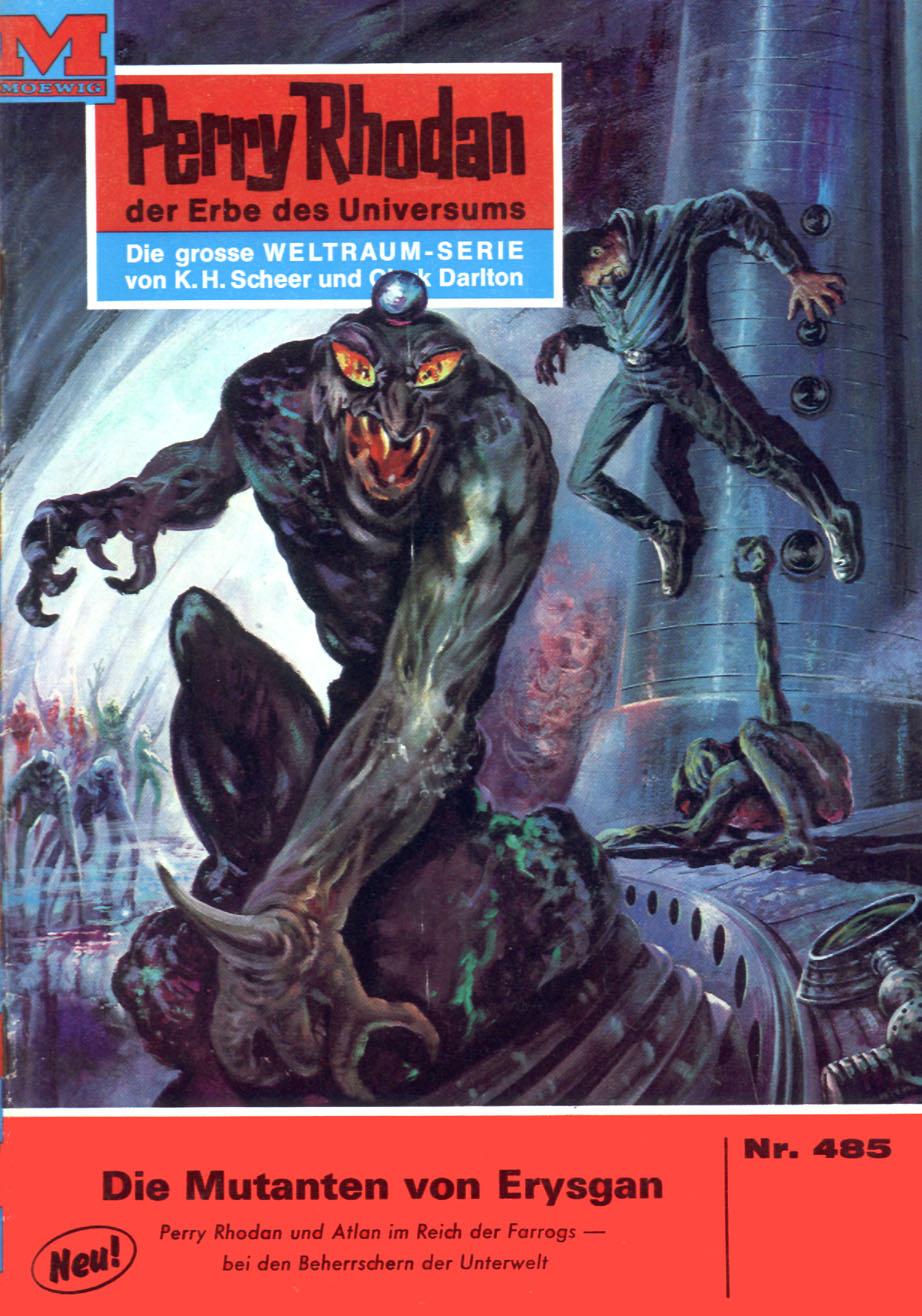 H.G. Ewers Perry Rhodan 485: Die Mutanten von Erysgan h g ewers perry rhodan 514 der weltraumkurier