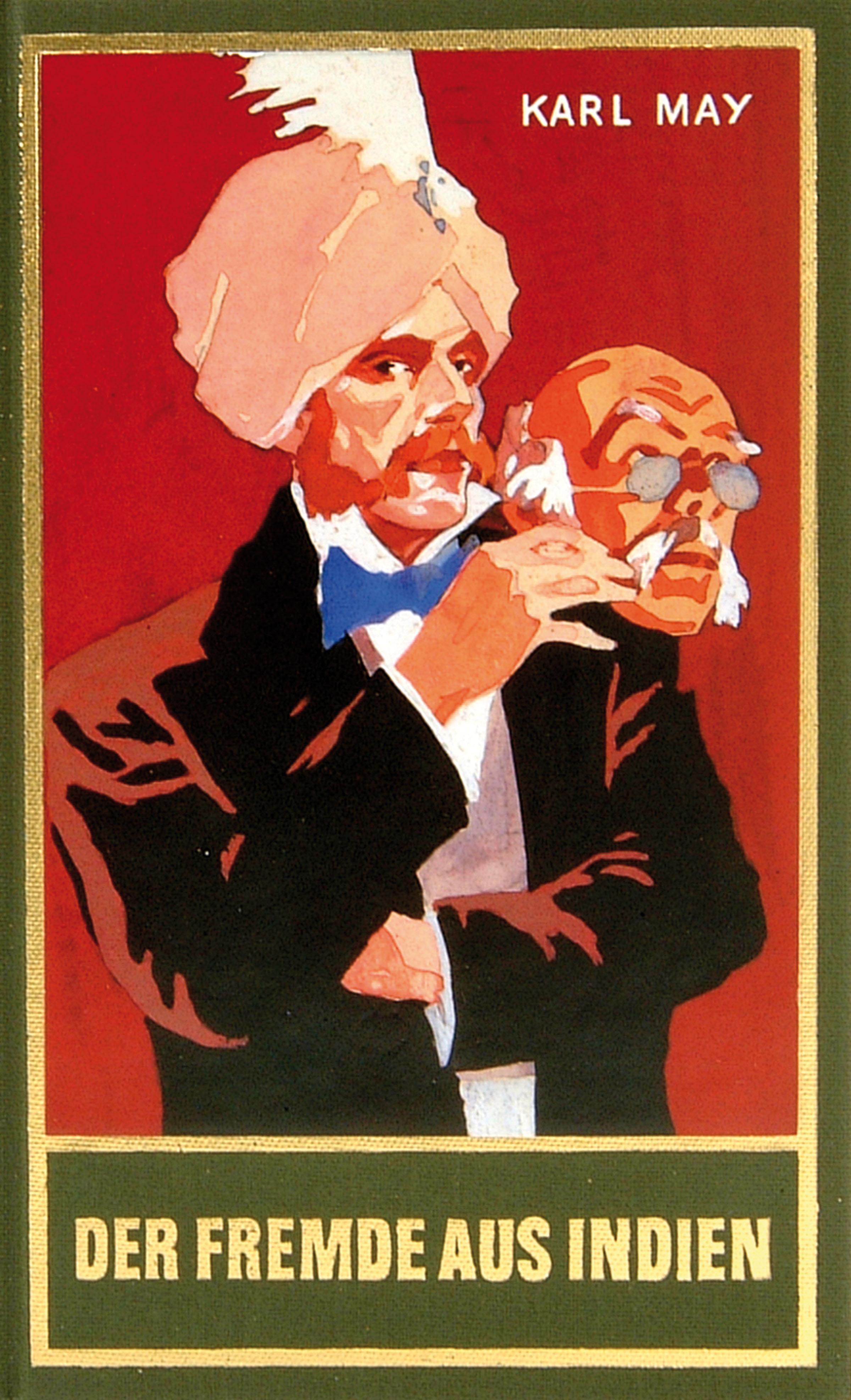 Karl May Der Fremde aus Indien
