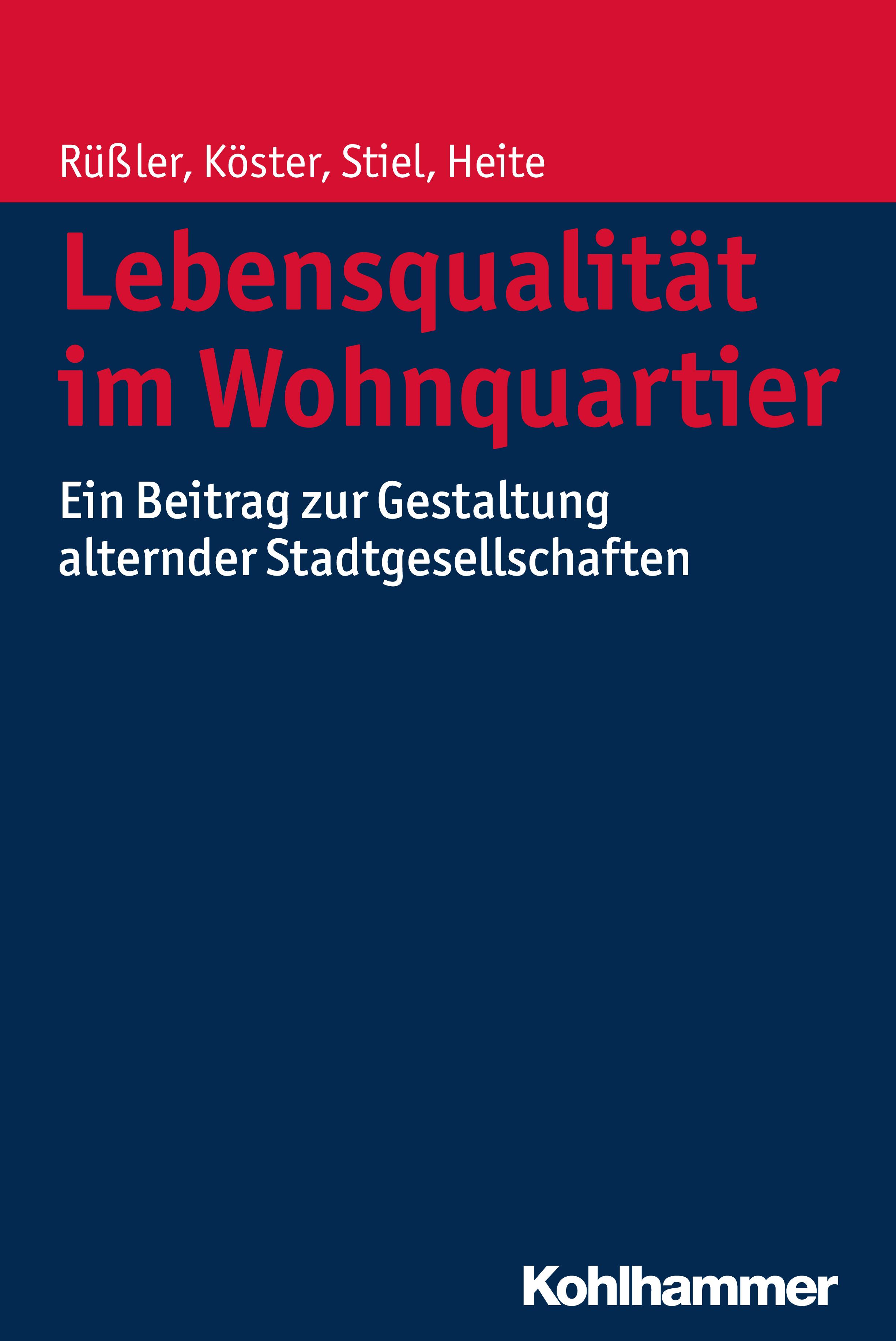 Elisabeth Heite Lebensqualität im Wohnquartier elisabeth schmolmüller lebenslanges lernen im berufsfeld der ergotherapie