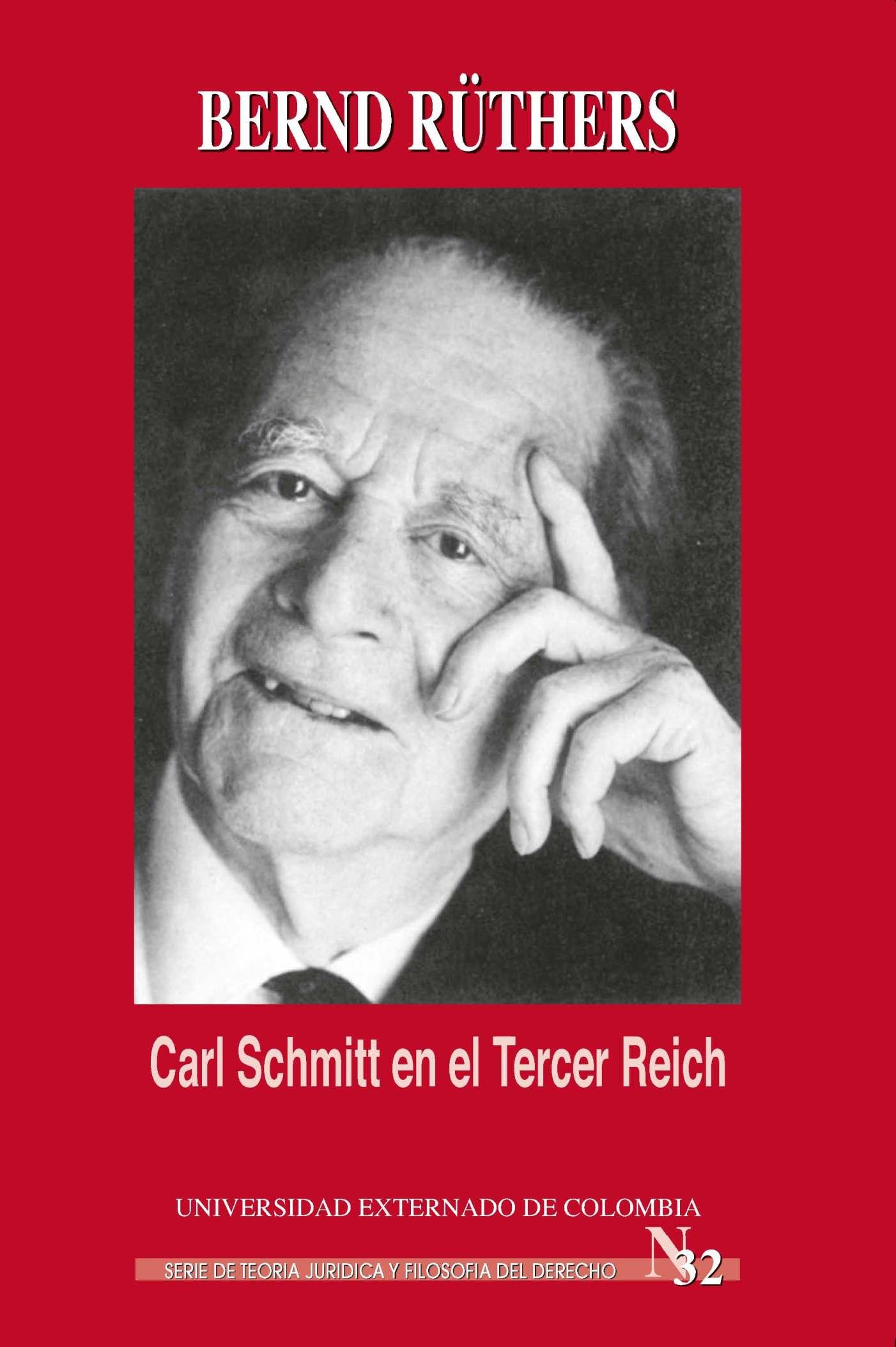 Bernd Schüneman Carl Schmitt en el Tercer Reich j schmitt air variе