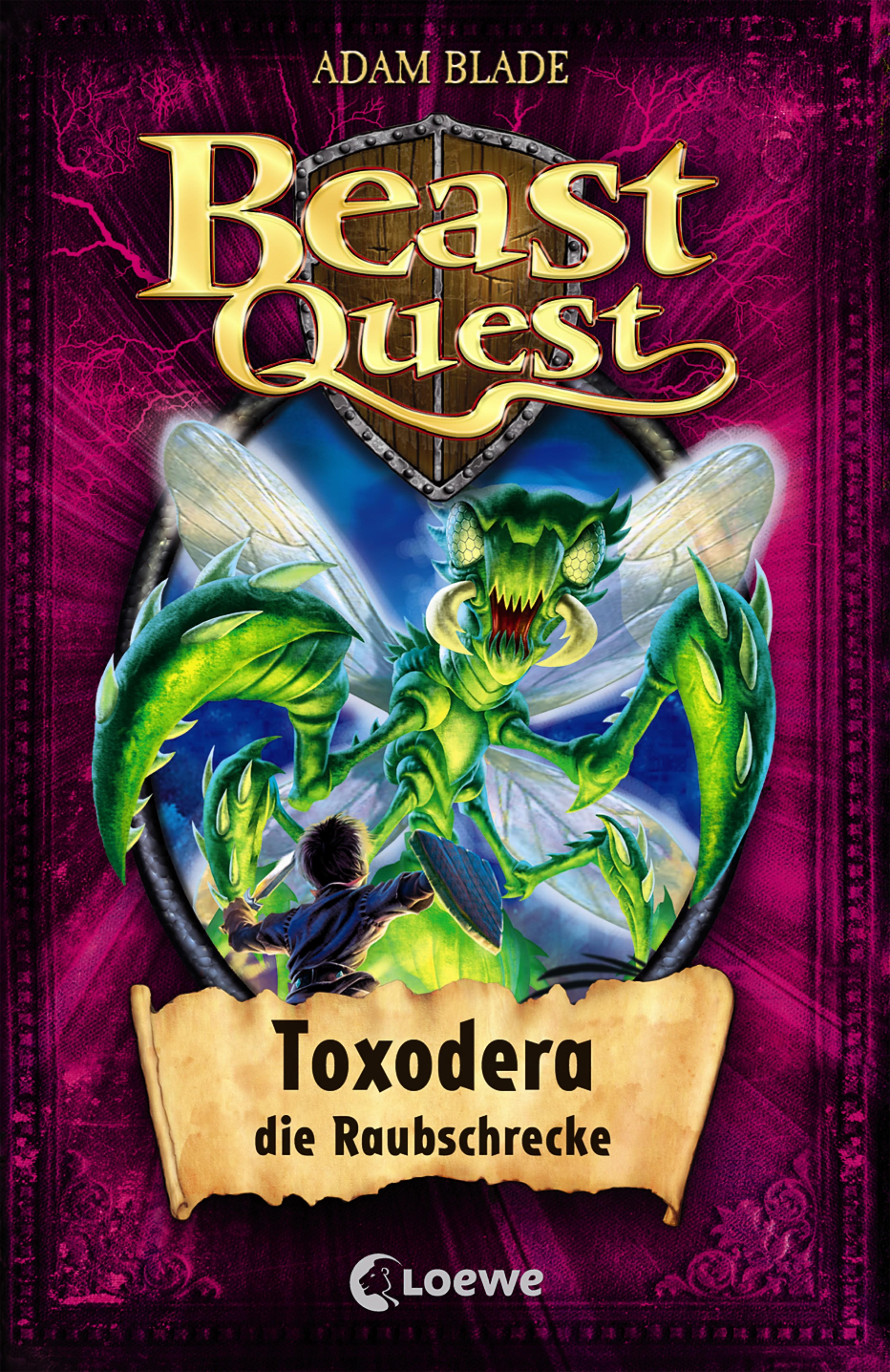 цена Adam Blade Beast Quest 30 - Toxodera, die Raubschrecke