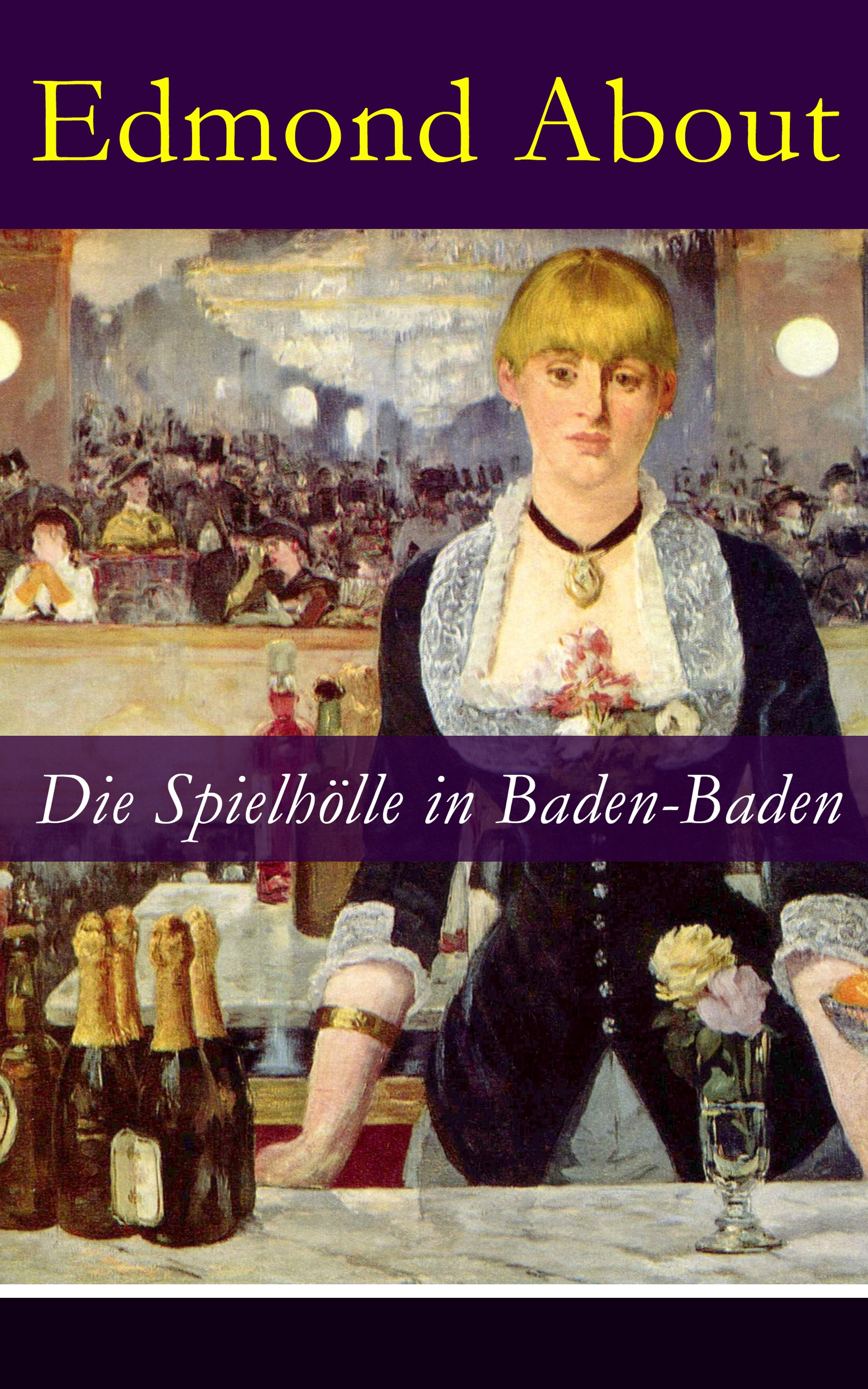 Edmond About Die Spielhölle in Baden-Baden слипоны baden baden ba993awbhyb1