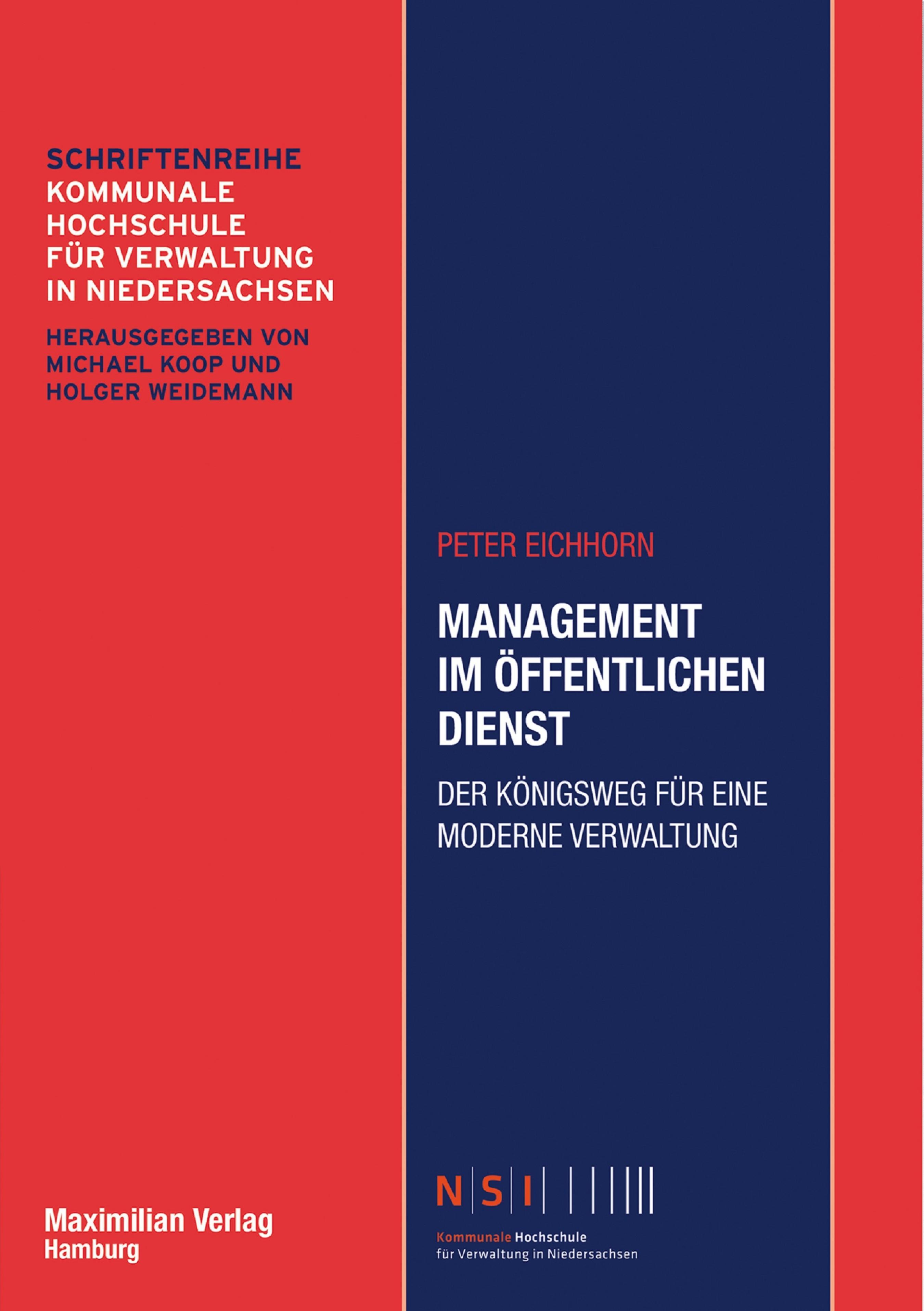 Peter Eichhorn Management im Öffentlichen Dienst игрушка eichhorn паровоз электронный 100001303